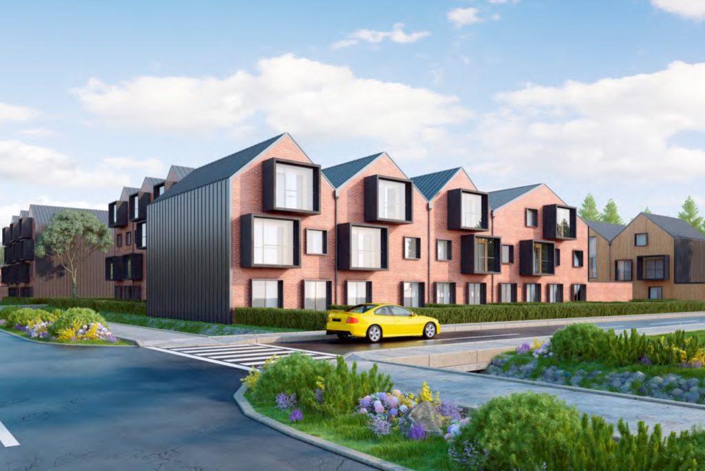 Архитектурная концепция жилого комплекса