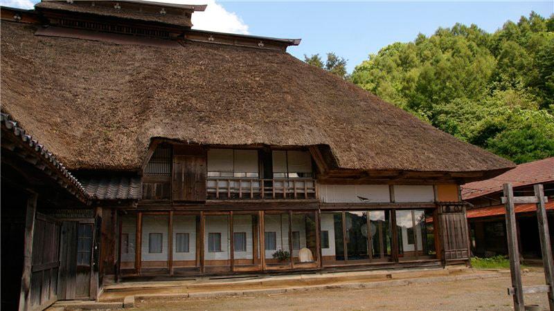 Традиционный японский дом минка