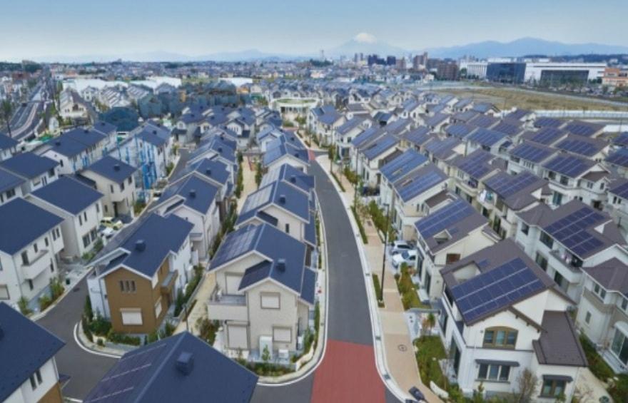 Мастер-план японского поселка