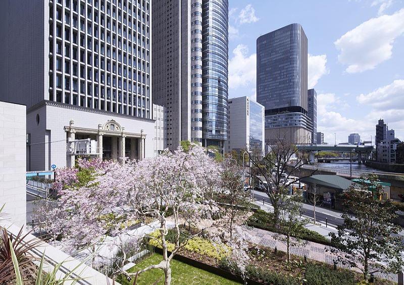 Городской японский ландшафт