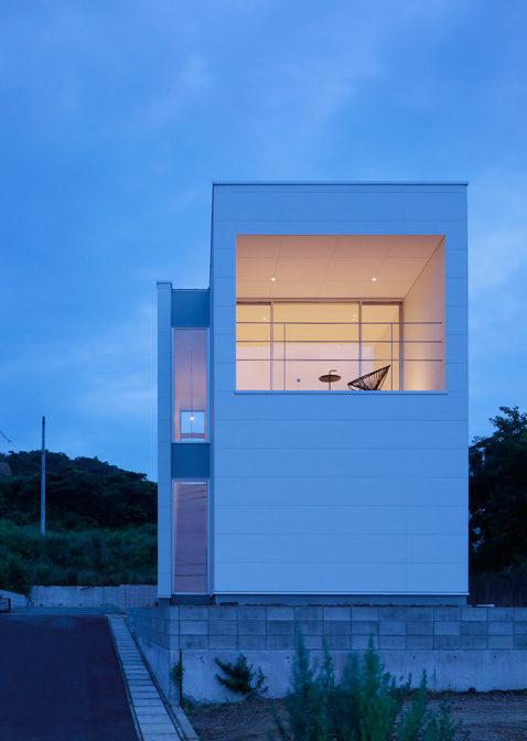 Японский дом минимализм