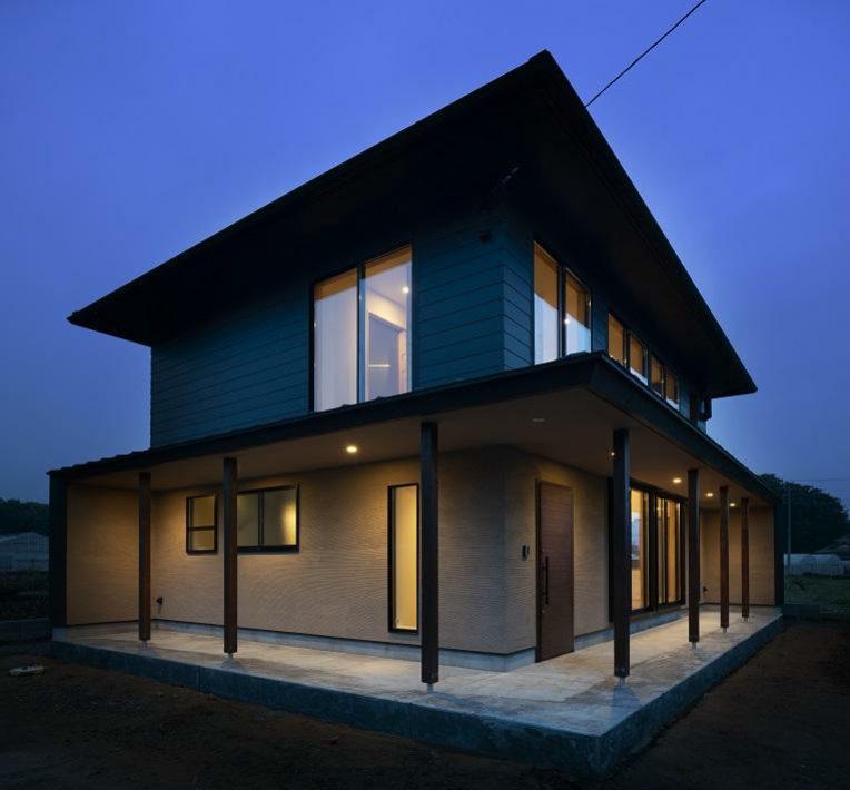 Загородный дом минимализм