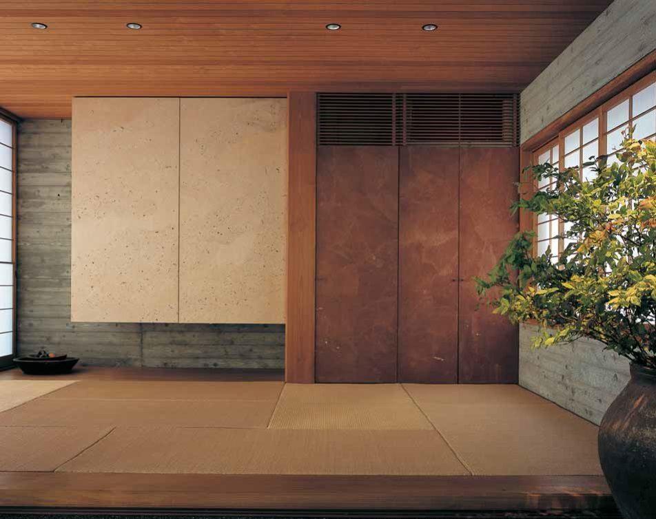Входная зона в японском стиле