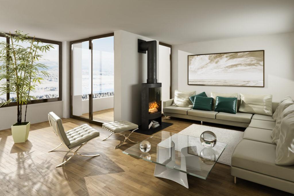 Комната интерьер в стиле минимализм