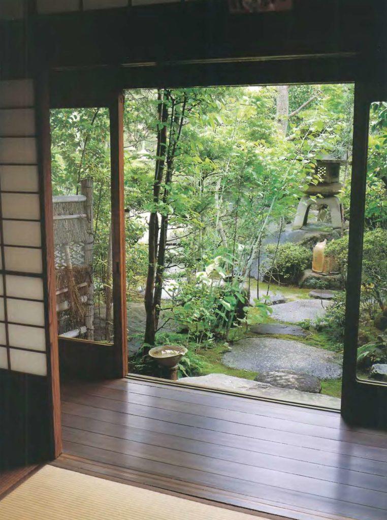 Японский дизайн веранды энгава